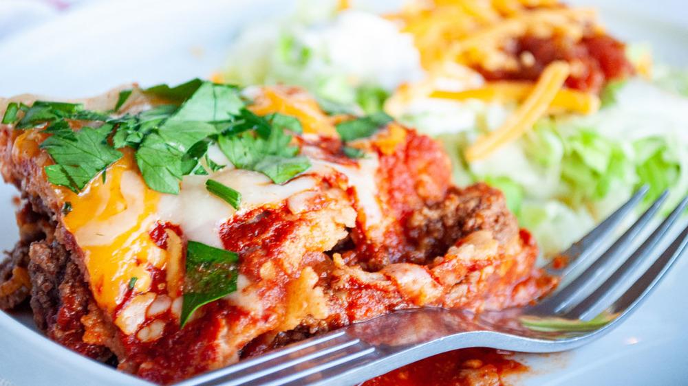 easy beef enchiladas casserole
