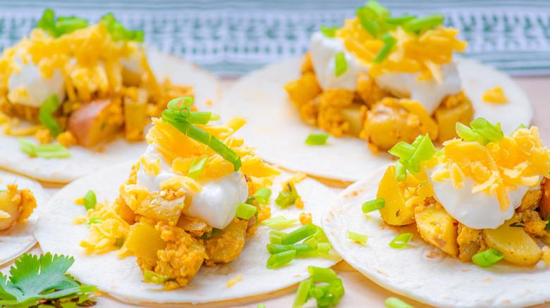 20-minute breakfast tacos