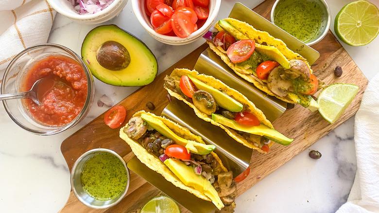 chimichurri tacos