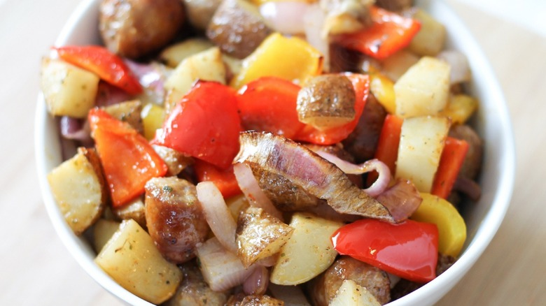 20-Minute Sausage and Potatoes