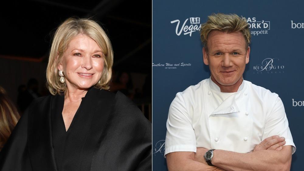 Gordon Ramsay versus Martha Stewart
