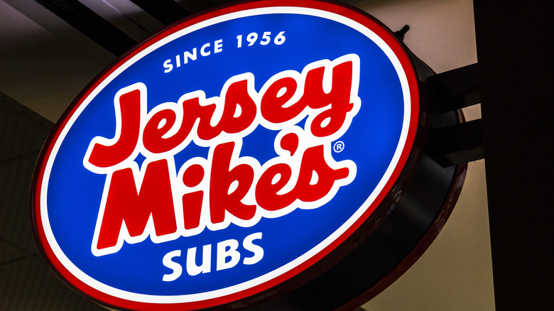 Jersey Mike's sign