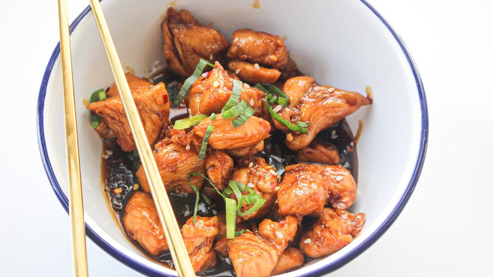 3-ingredient teriyaki chicken