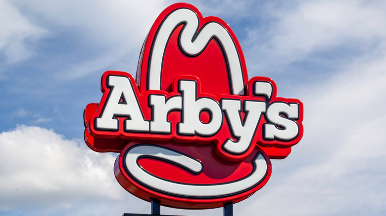 The sign at an Arby's location