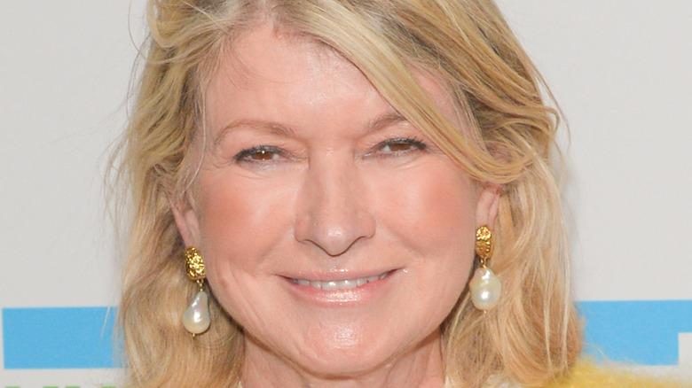 Martha Stewart smiling at event