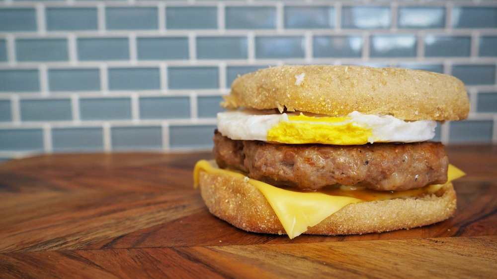 5-ingredient copycat McDonald's Sausage and Egg McMuffin