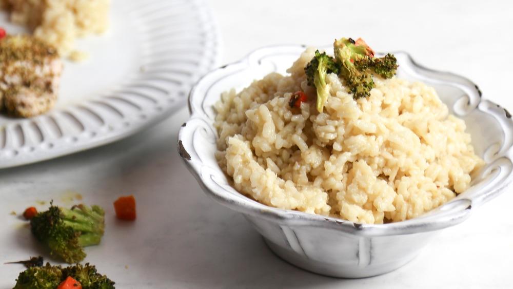 easy 5-ingredient vegan risotto