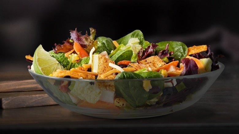 Southwest buttermilk crispy chicken salad