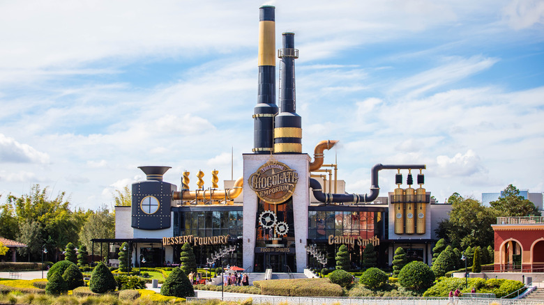 Image of candy factory