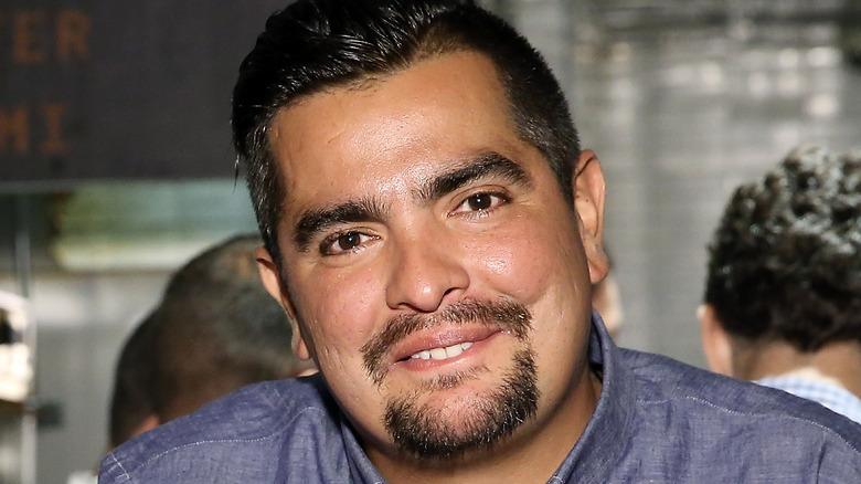 Head shot of chef Aaron Sanchez