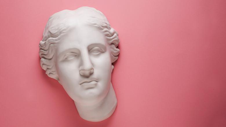 Plaster of Aphrodite's head