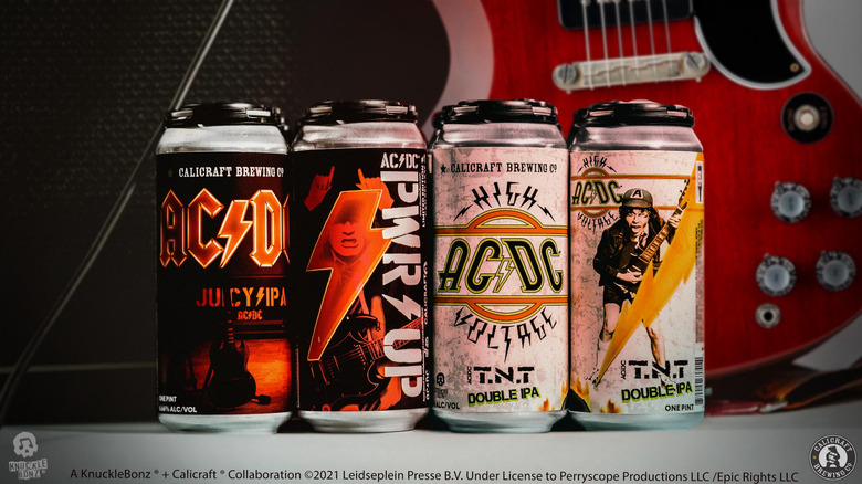 The new AC/DC beer collaboration