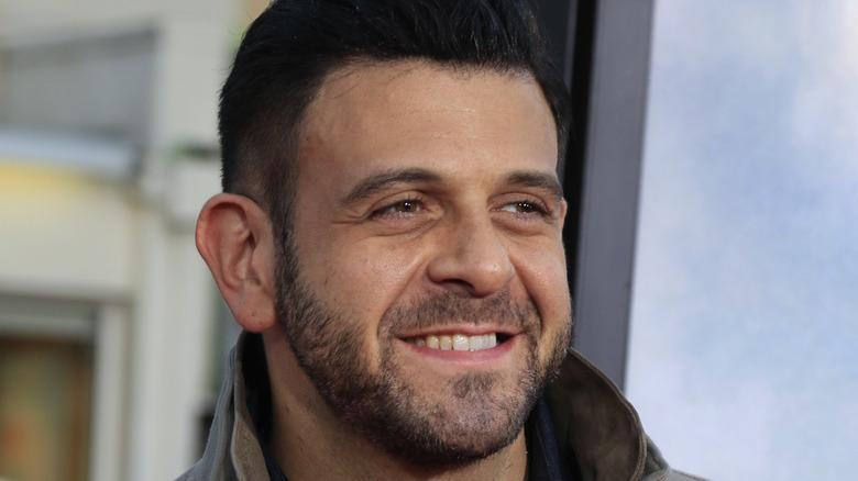 Adam Richman smiling