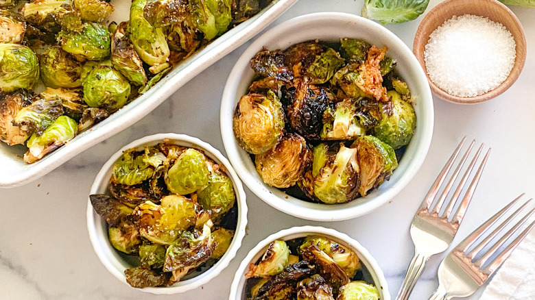 brussels sprouts bowls