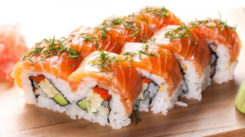 Alaska sushi roll