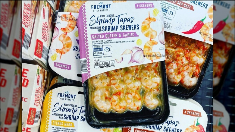 Aldi's divisive frozen shrimp