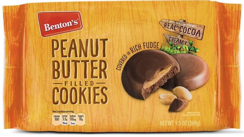 Package of peanut butter cookies