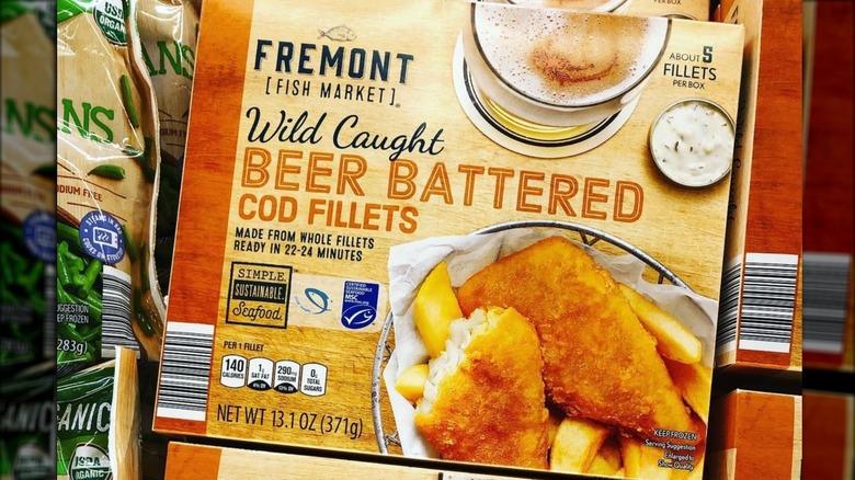 Aldi's beer battered cod fillets