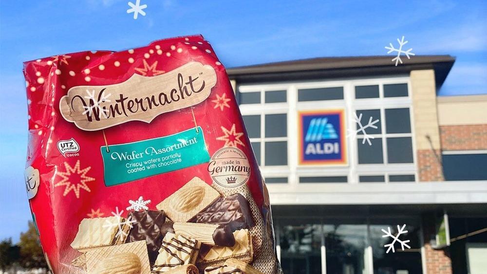 Winternacht cookies from Aldi