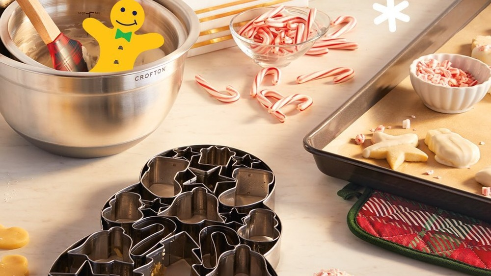 Aldi's holiday cookie cutters