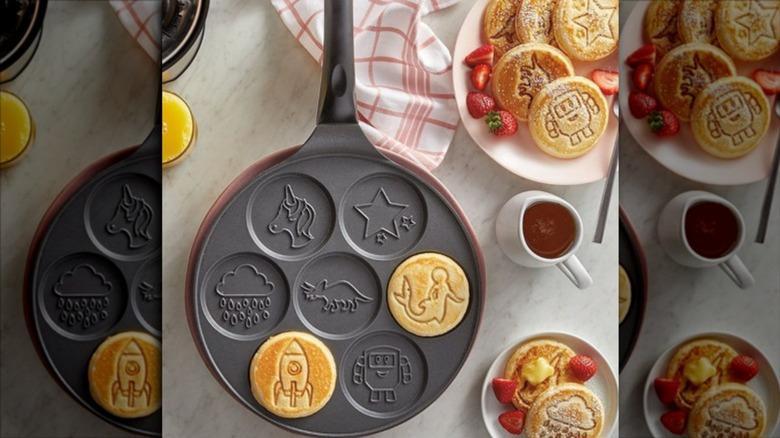 Aldi's Crofton Adventure pancake pan