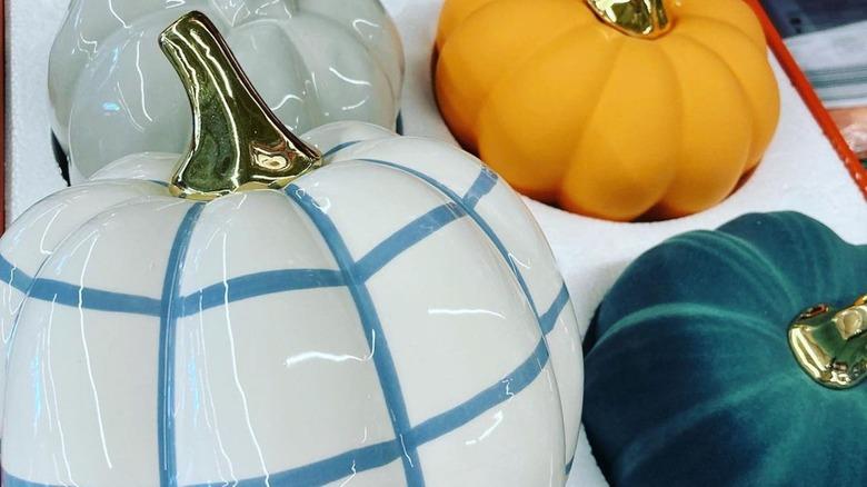 Aldi ceramic pumpkins