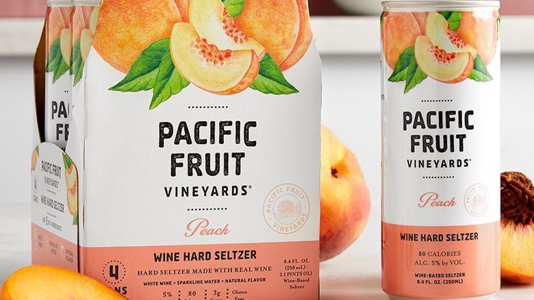 Pacific Fruit Vineyards wine hard seltzer