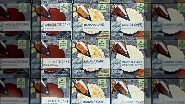 All new Aldi cakes in boxes