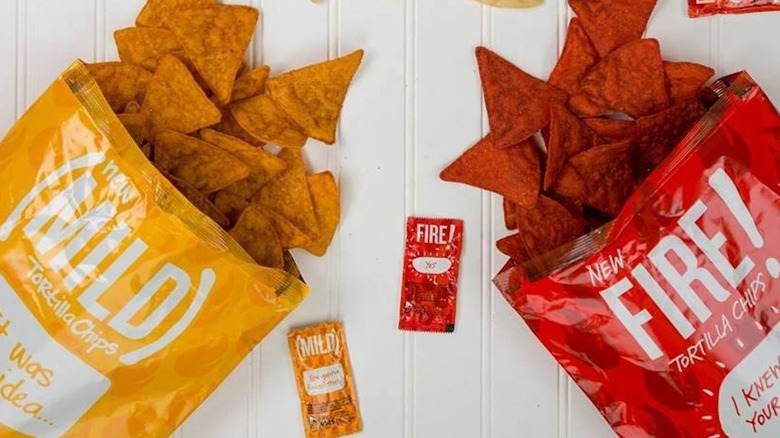 Taco Bell chip bags