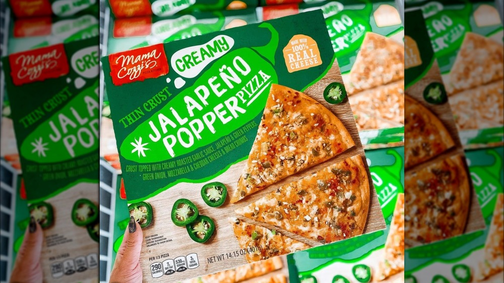 Jalapeno Popper Pizza from Aldi