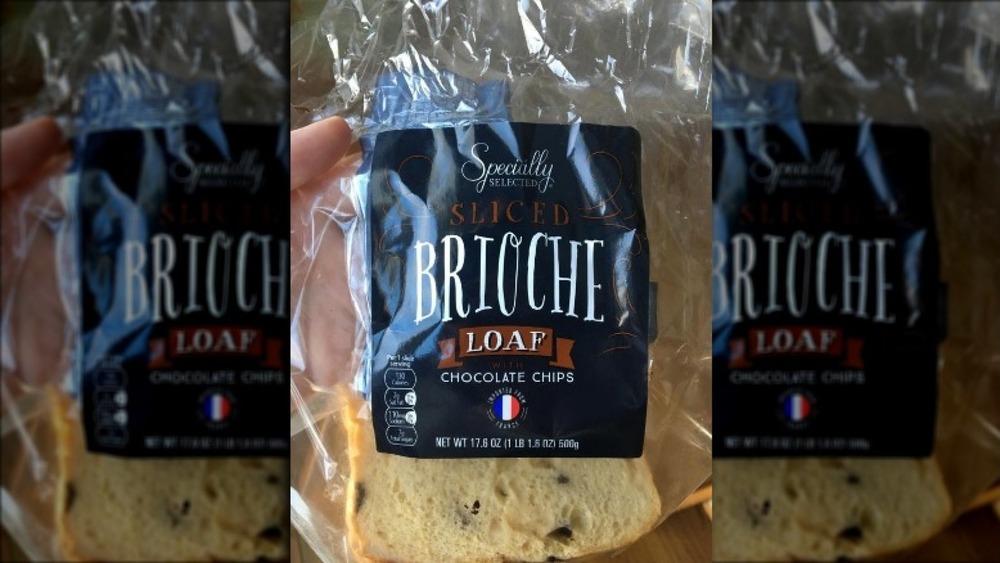 New Aldi brioche in a bag