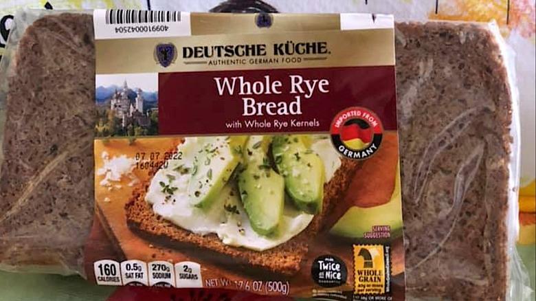Aldi German Whole Rye Bread