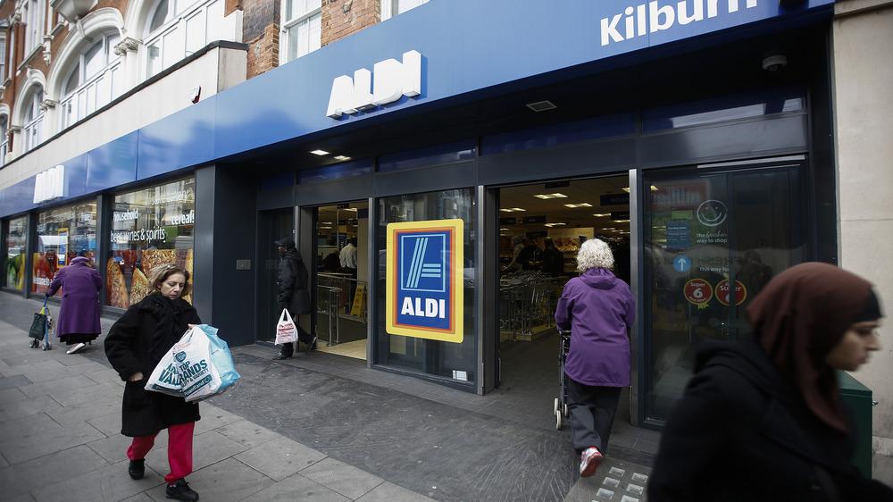 Aldi store in London
