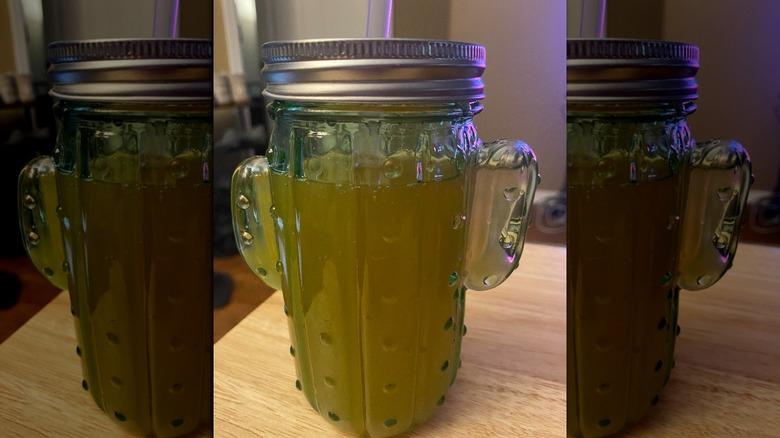 Aldi's new cactus mason jar