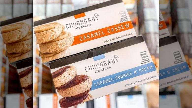 Aldi's Churnbaby ice cream sandwiches