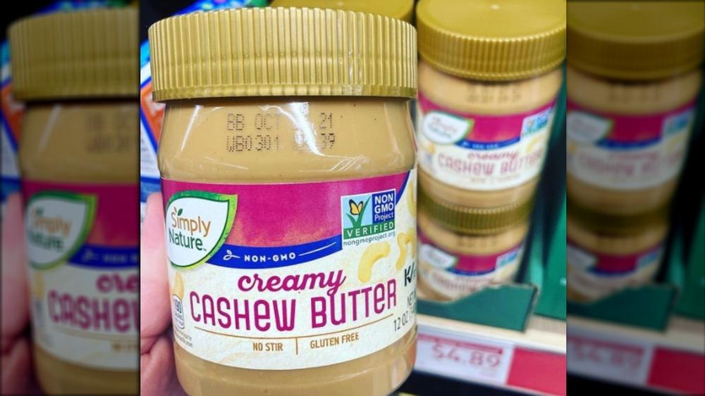 Creamy Cashew Butter at Aldi