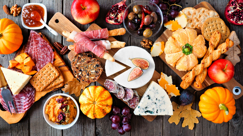 Holiday charcuterie spread