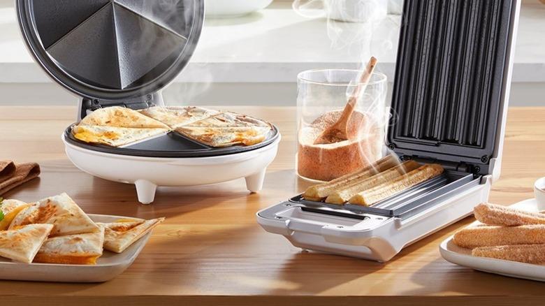 Aldi's quesadilla and churro maker