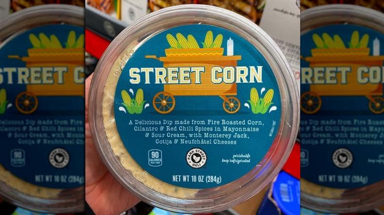 Street corn at Aldi