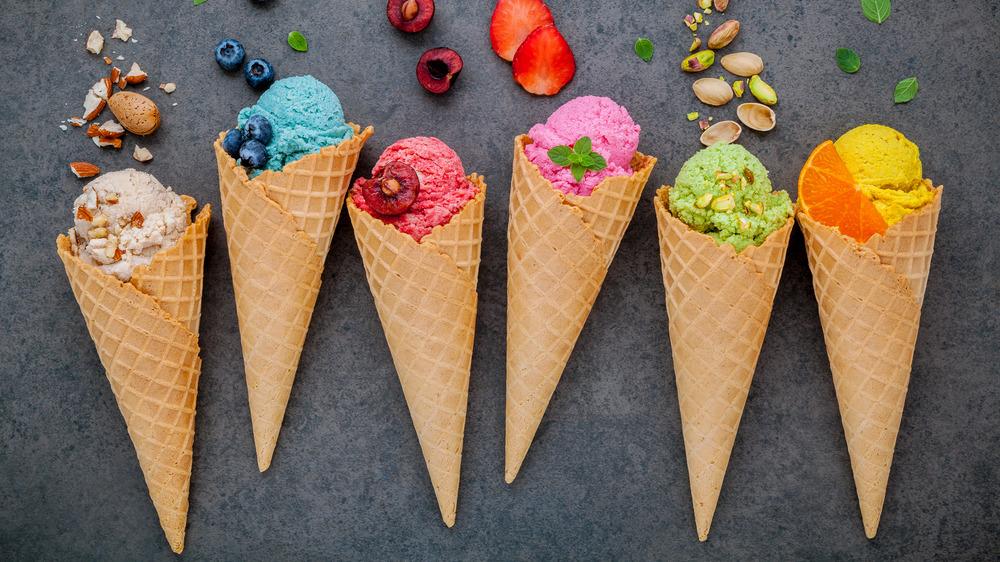 A generic photo of ice cream