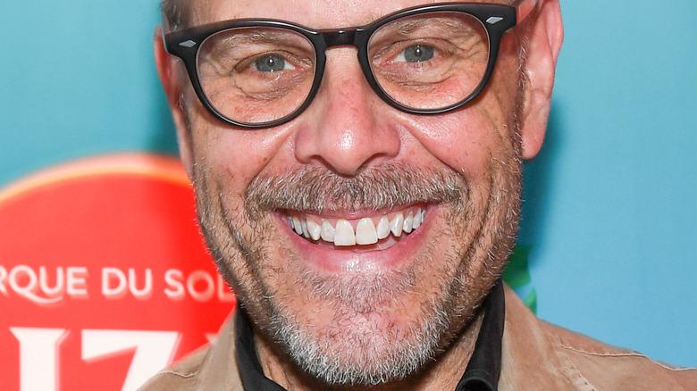 Alton Brown smiling