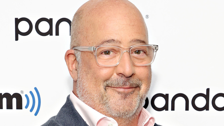 Andrew Zimmern folding arms