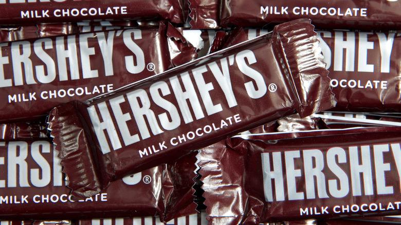 Hershey's chocolate bars