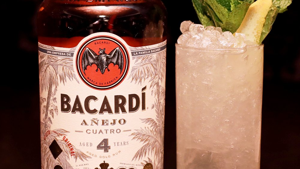 Bacardi rum and drink