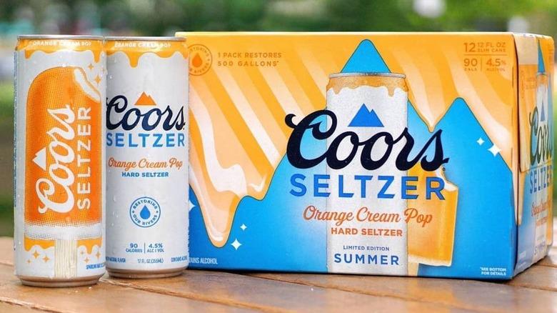 coors seltzer box