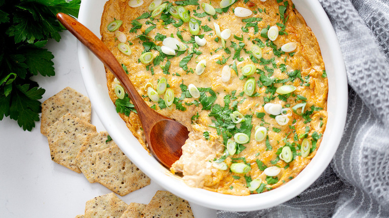 baked clam dip