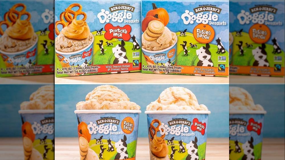 Ben and Jerry's Doggie Desserts ice cream