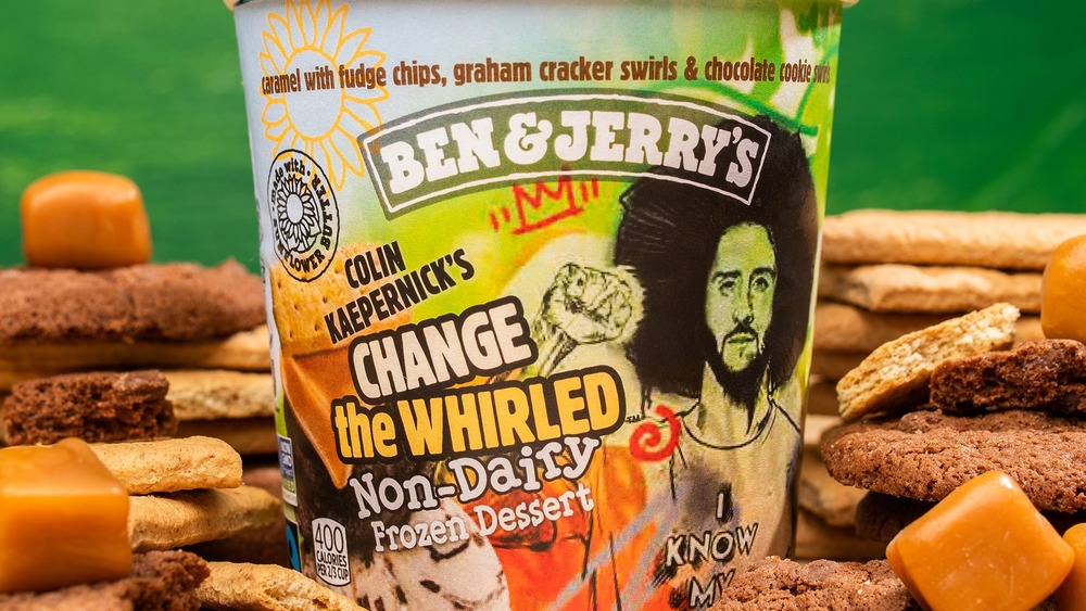 Ben & Jerry's new flavor: Colin Kaepernick's Change the Whirled