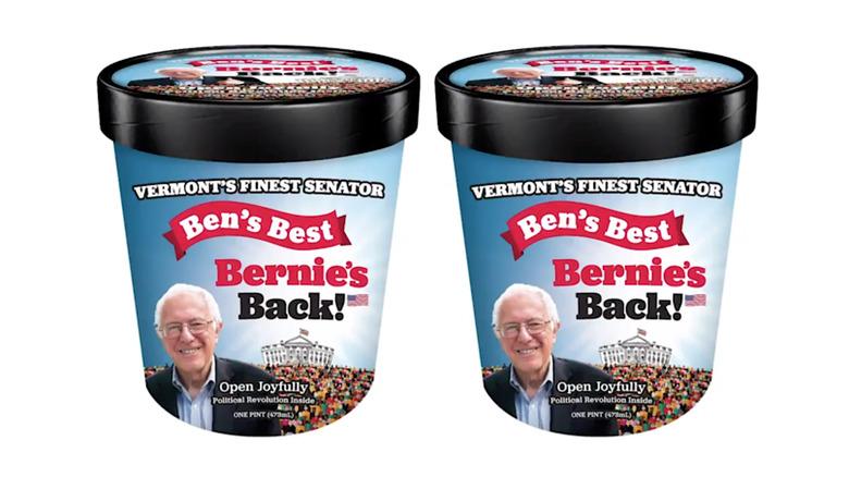 Bernie Sanders ice cream