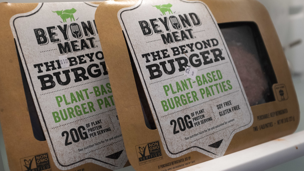 Beyond Burger packages